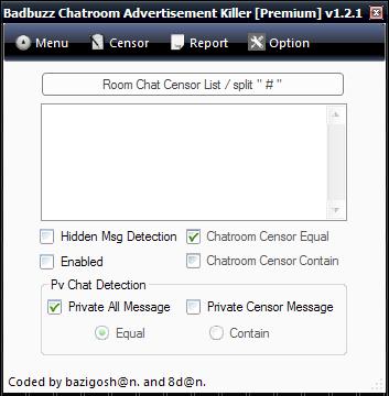 BADBUZZ CHATROOM ADVERTISEMENT KIllER  [Premium] 1.2.1 Anti2