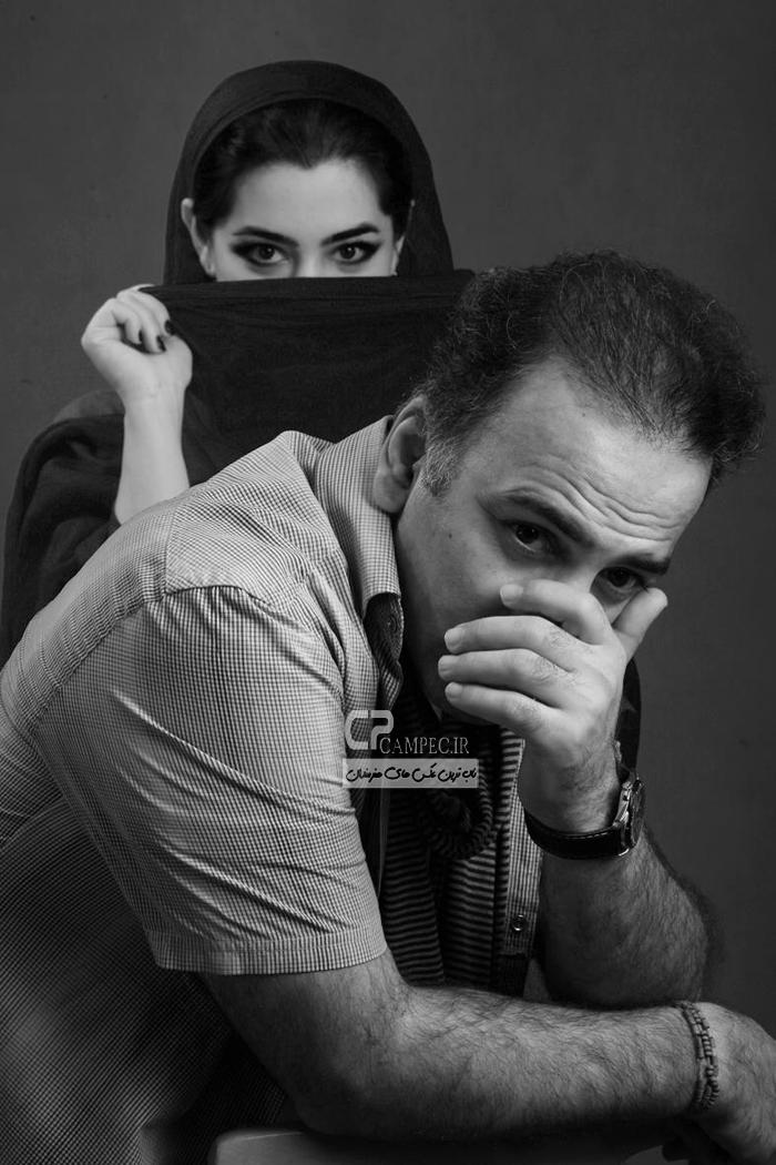 عکس های جدید بازیگران با همسرانشان بهمن ماه 93