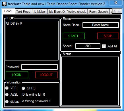 freebuzz TeaM and new1 TeaM Danger Room Flooder Version 2 (Anti Admin) coded by $!_javad(l)jody_!$@n.c and rasolahwazi@n.c 656465465464