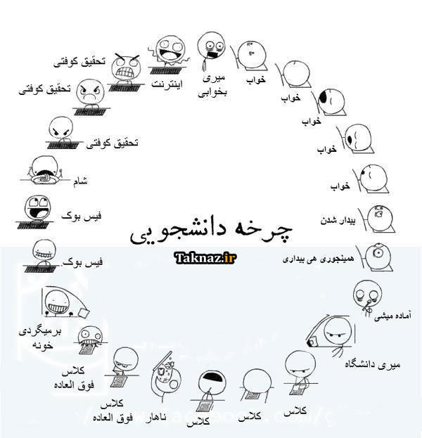 چرخه دانشجویی :)