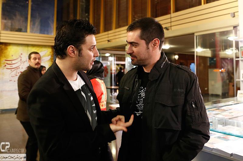 شهاب حسینی و جواد عزتی