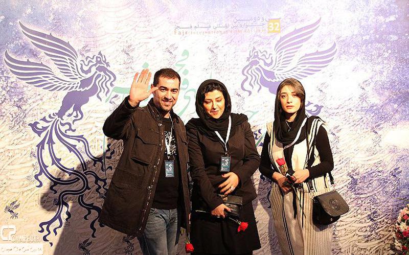 مینا ساداتی،شهاب حسنی و همسرش