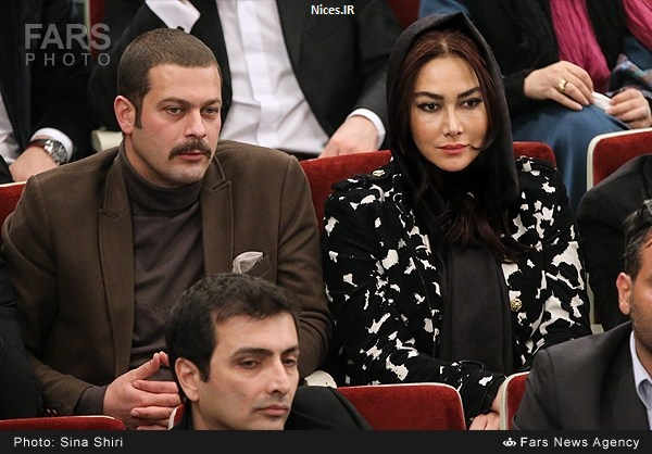 پژمان بازقی و همسرش
