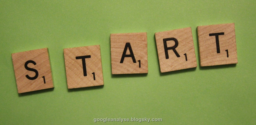 start  شروع به کار گوگل آنالیز