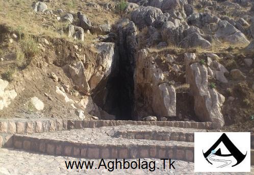 عکس جدید ورودی غار آقبلاغ