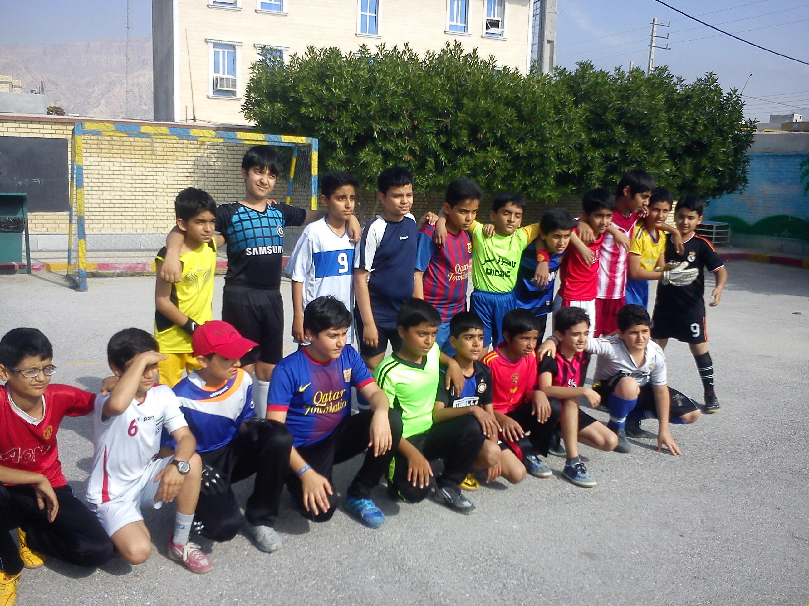 مسابقات ورزشی آموزشگاه