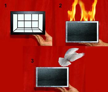 جعبه آتش کبوتر