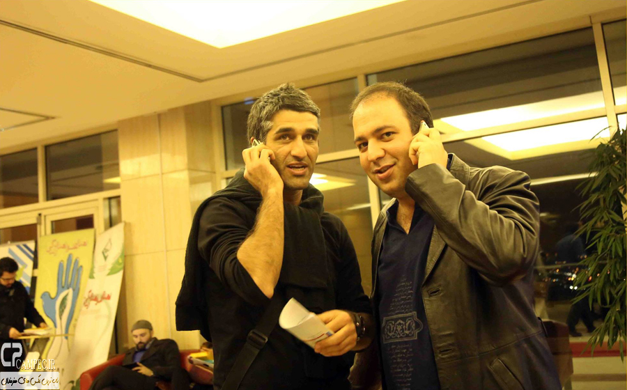 پژمان جمشیدی و علی اوجی
