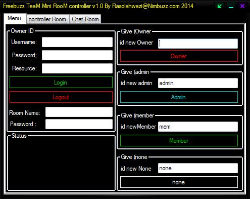 Freebuzz TeaM Mini RooM Controller 56456465