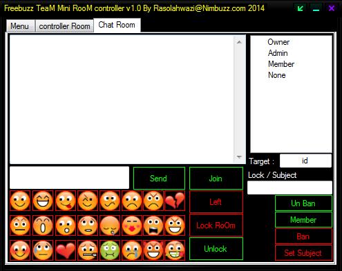 Freebuzz TeaM Mini RooM Controller 6446051