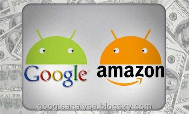 آمازون و گوگل  amazon and google