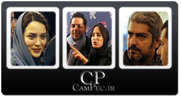 عکس های بازیگران در حاشیه جشنواره فیلم فجر «4»