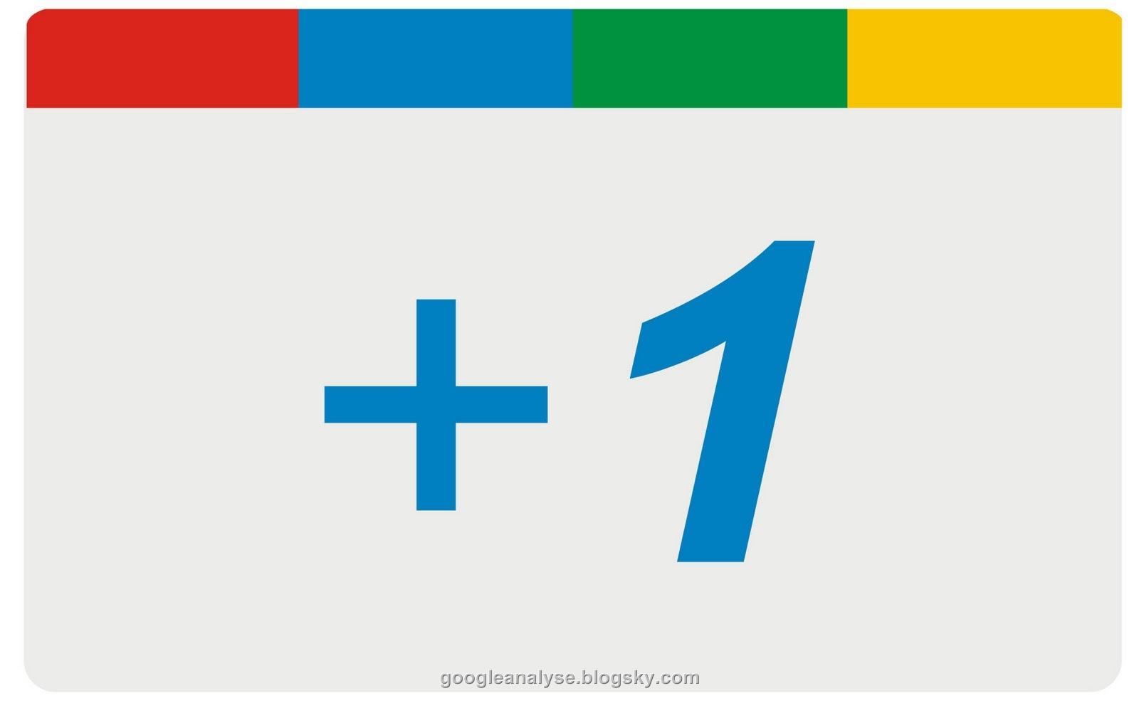 google + 1