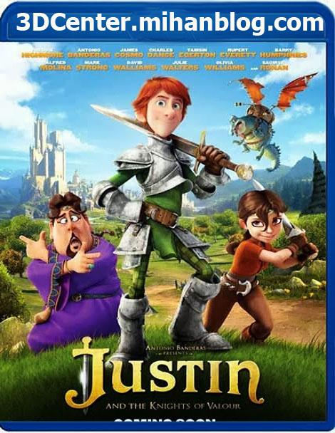 دانلودانیمیشن سه بعدی Justin And The Knights Of Valour 2013