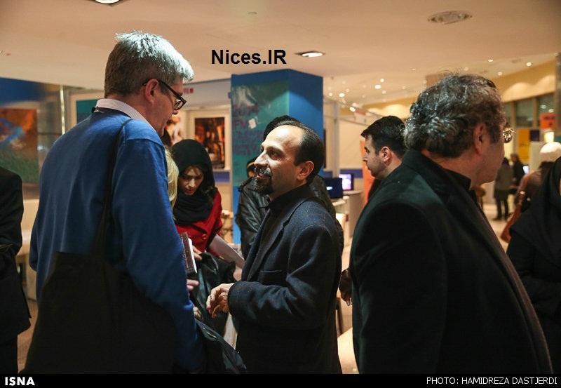 عکس اصغر فرهادی در جشنوراه فیلم فجر