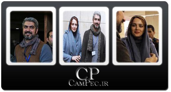 عکس های مهدی پاکدل و همسرش بهنوش طباطبایی در جشنواره فیلم فجر