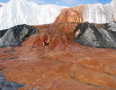 مطالب داغ: آبشار خون در قطب جنوب