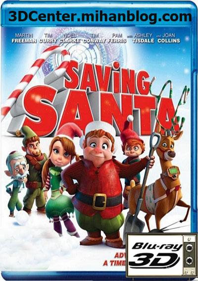 دانلودانیمیشن سه بعدی Saving Santa 2013-نجات بابانوئل