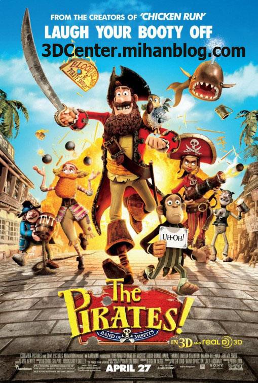 دانلودانیمیشن سه بعدیThe Pirates! Band of Misfits