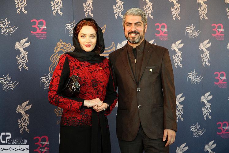 مهدی پاکدل و همسرش بهنوش طباطبایی