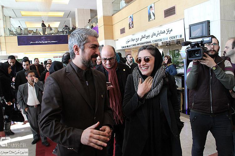 مینا ساداتی و مهدی پاکدل