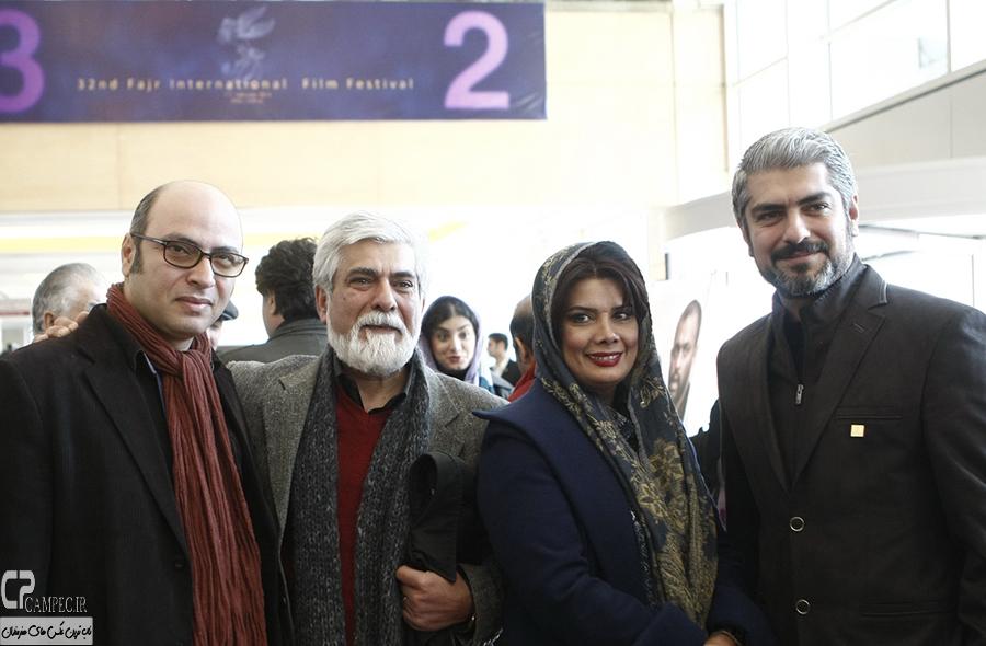 مهدی پاکدل،عاطفه رضوی و همسرش حسین پاکدل