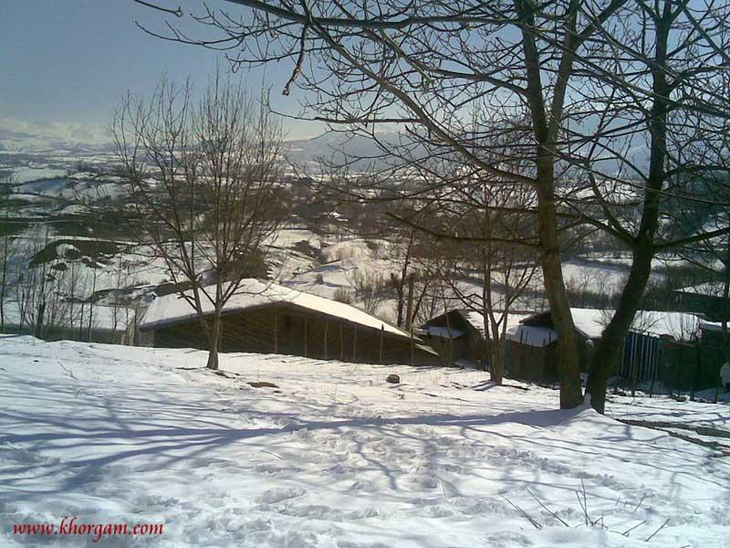 چهارمحل پس از برف 92