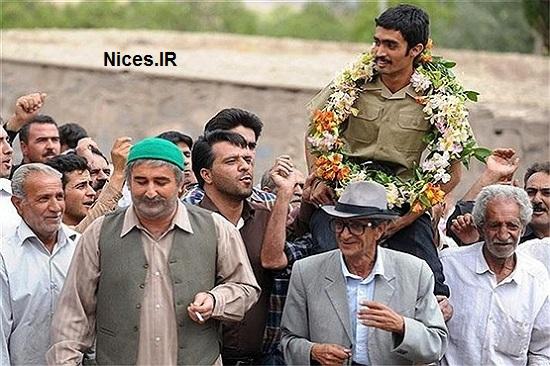 مهران احمدی در فیلم شیار 143