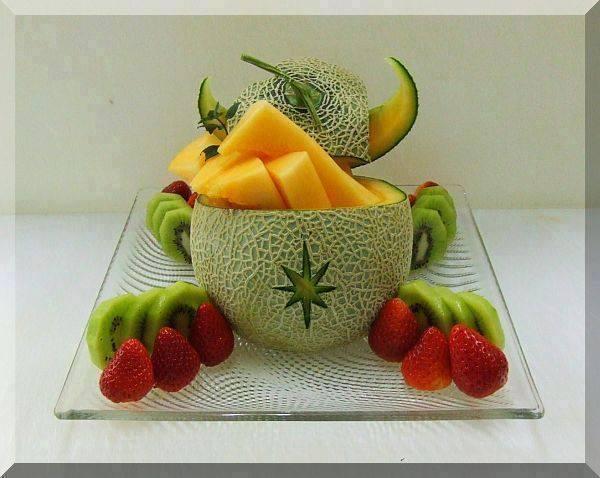 خلاقیت های جالب و دیدنی با میوه ها