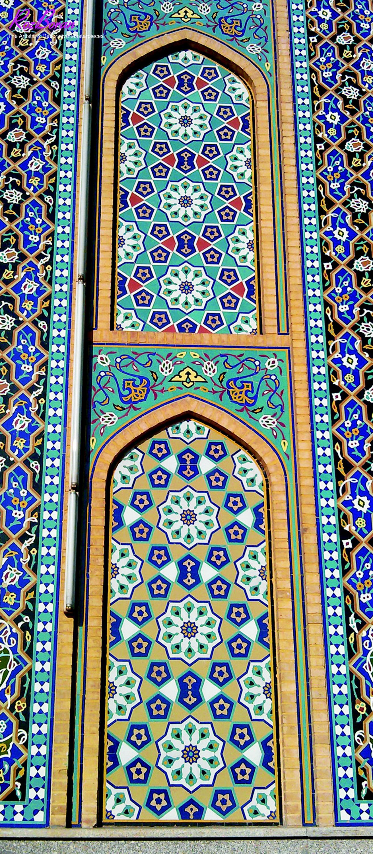 عکس کاشی کاری ایران