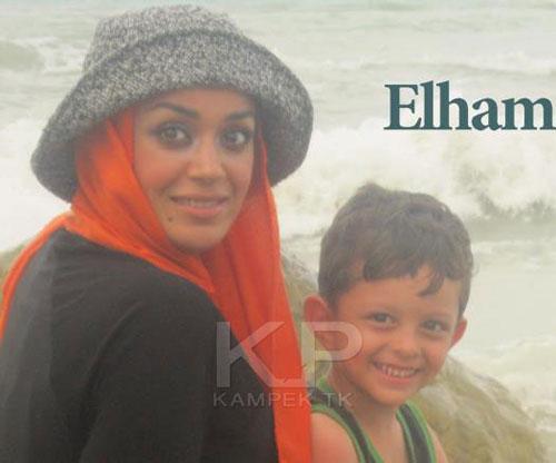 عکس الهام چرخنده و فرزندش/elham_charkhandeh_farzandash