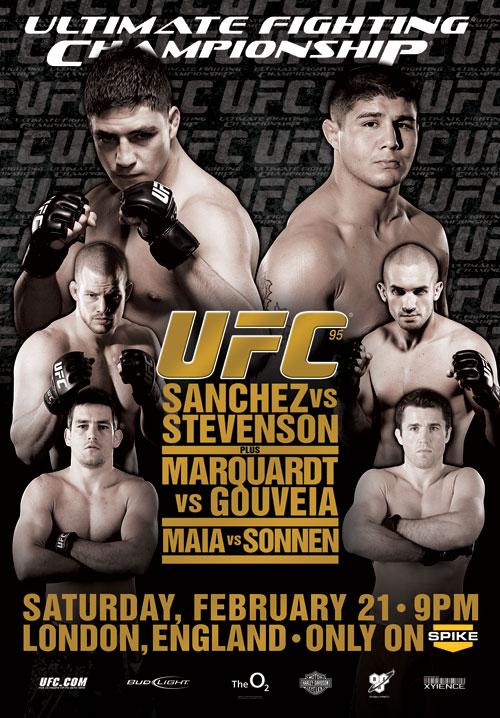 دانلود یو اف سی 95 | UFC 95 : Sanchez vs. Stevenson