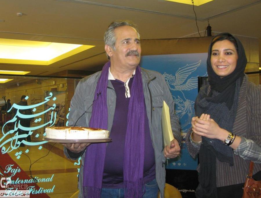 مجید مظفری و دخترش نیکی