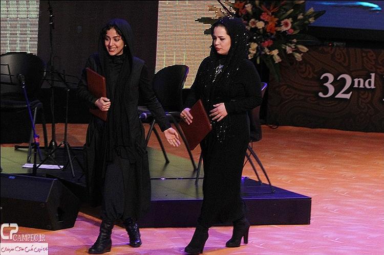 ملیکا شریفی نیا و هنگامه حمید زاده