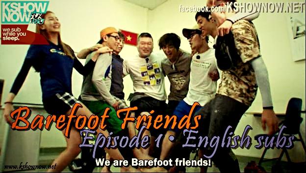Barefoot Friends 1-15