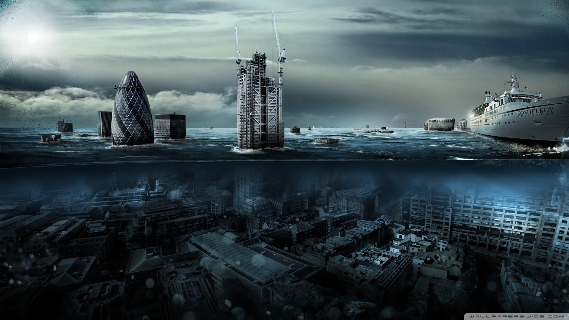 Flooded London