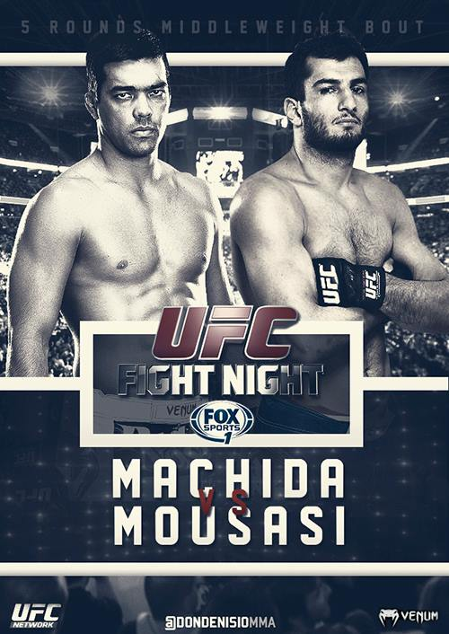دانــلود یو اف سی فایت نایت 36 | UFC Fight Night 36 : Machida vs. Mousasi