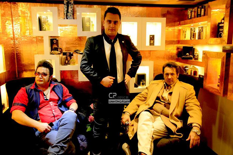 حسام نواب صفوی و سجاد منصوری