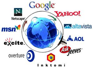 ثبت وبلاگ/سایت در موتورهای جستجو