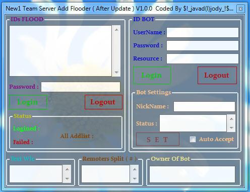 New1 Team Server Add Fl0oder (After Update) v1.0.0 Server4757