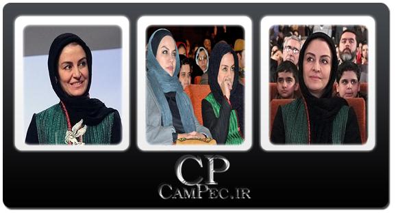 عکس های مریلا زارعی در اختتامیه جشنواره فیلم فجر در مشهد