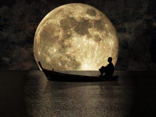 من و شب و ستاره ها و ماه و نبض ساعتم