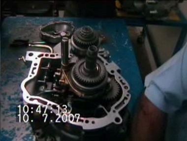 آموزش تعمیر گیربکس پژو 405