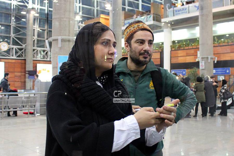باران کوثری و نوید محمدزاده