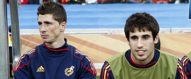 خاوی مارتینز در کنار فرناندو تورس