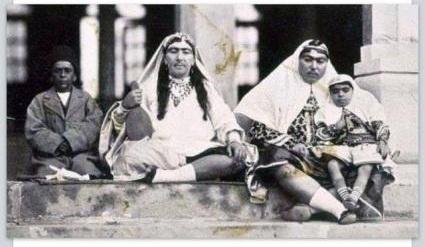 تصویری از همسران ناصرالدین شاه قاجار