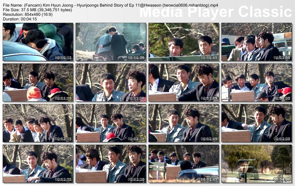 [HollisHyun Fancam] Kim Hyun Joong Inspiring Generation Shooting at Hwaseong, Behind the Scene for Episode 11 [14.02.19]