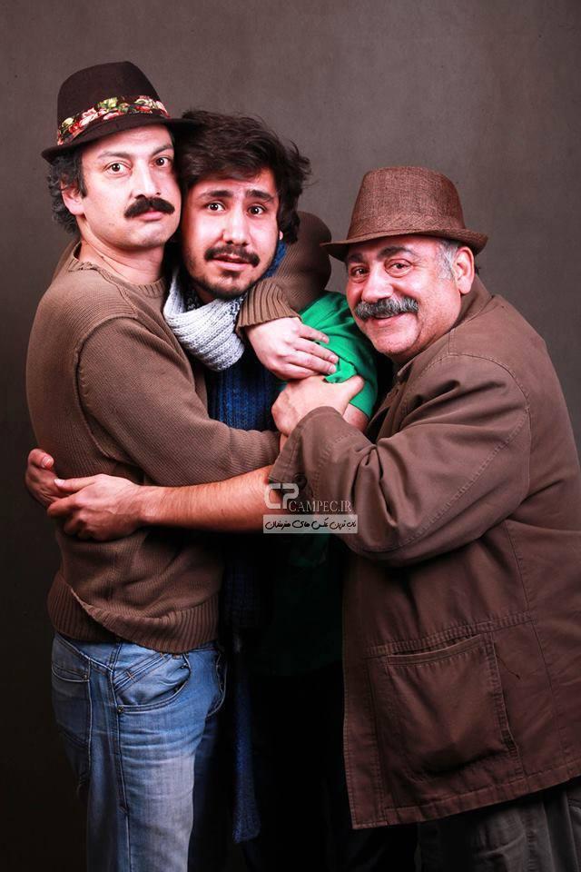 خسرو احمدی و ارژنگ امیر فضلی
