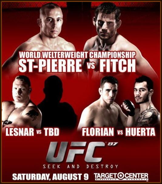 دانلود یو اف سی 87 | UFC 87 :  Seek And Destroy