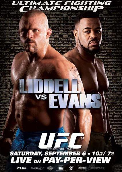 دانلود یو اف سی 88 | UFC 88:Chuck Liddell vs. Rashad Evans
